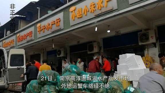 """几十元普通蟹只花5毛钱 摇身变成""""阳澄湖大闸蟹"""""""