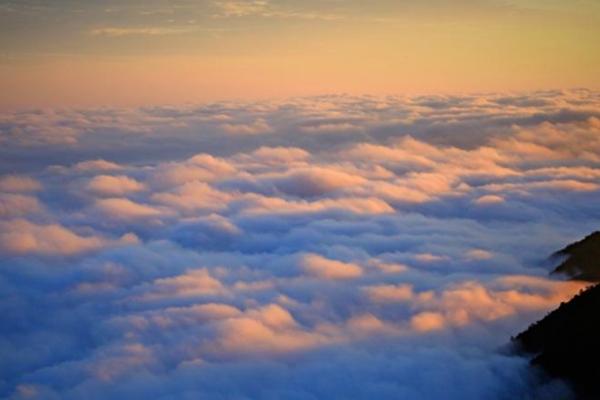 丽水云海日出美如画