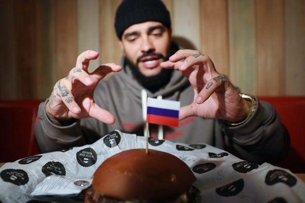 俄罗斯汉堡店为普京总统庆生 推出总统限定套餐