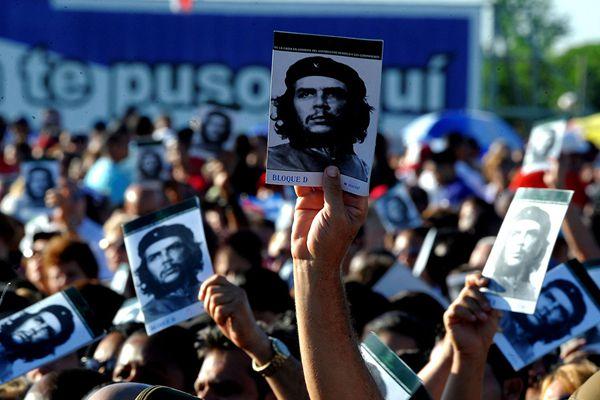 古巴纪念格瓦拉逝世50年 总统出席仪式