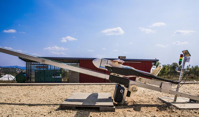 卢旺达全境用上无人机递送血液