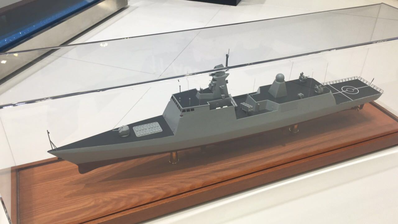 外媒:巴基斯坦购中国新型护卫舰 已签最终合同