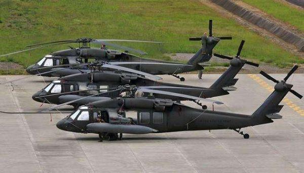 战争再延续 美国援助阿富汗上百架黑鹰直升机