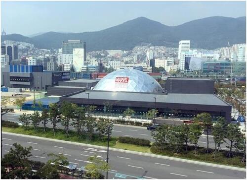 亚洲首个漫威体验馆即将在釜山开业