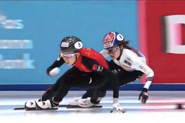 燃!短道速滑世界杯 中国女队绝杀韩国夺冠