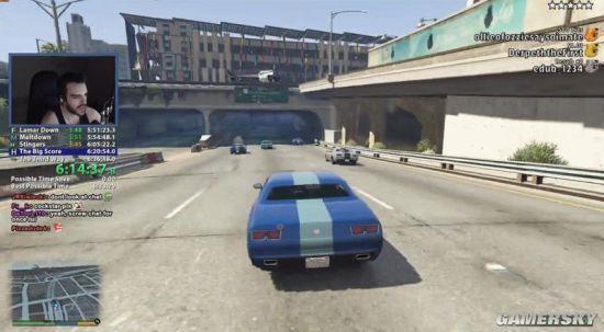 玩家欲挑战《GTA5》速通纪录 却被罕见Bug搅黄