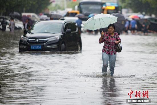 华西至江淮地区强降雨 造成278万人受灾23人亡