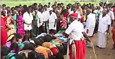 印度2000女性列队跪受鞭打