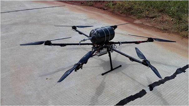 无人机燃料电池延长多旋翼飞行器续航时间