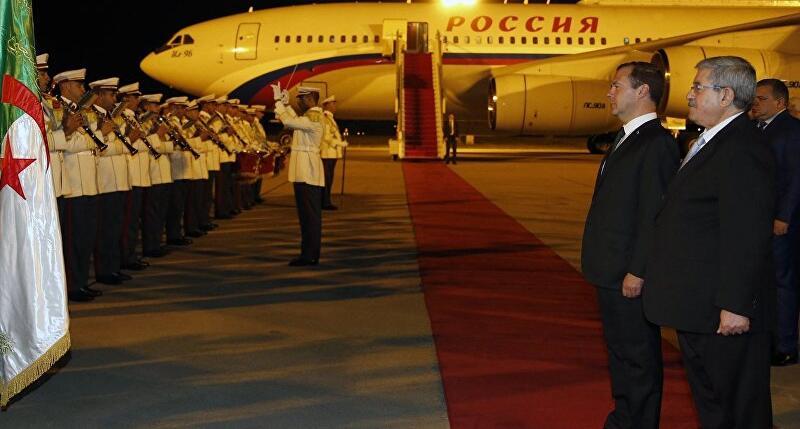 俄总理:阿尔及利亚系主要合作伙伴 俄拟为其提供核能技术