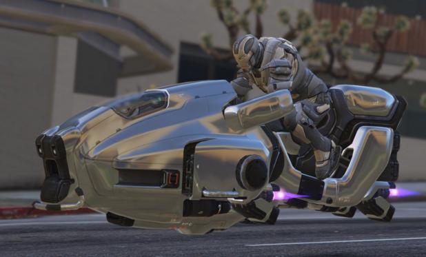 迪拜警方展示飞行摩托车 可实现远程操控无人驾驶