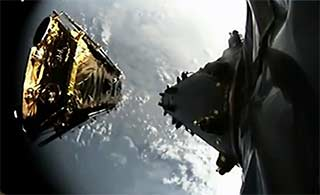 SpaceX一箭十星发射成功
