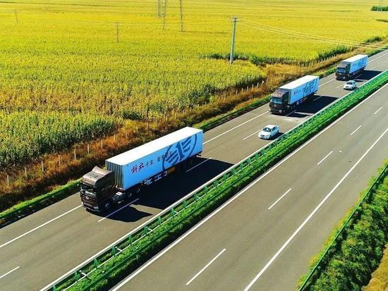 大招!国产解放牌智能卡车成功完成高速公路测试