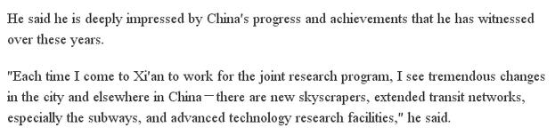 俄顶尖科学家:共产党领导是中国成功的关键!