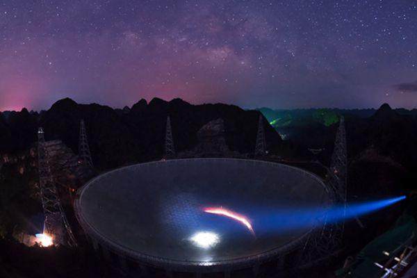 """""""中国天眼""""发现脉冲星 实现我国该领域""""零的突破"""""""
