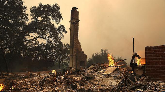 重大灾害!美国总统特朗普回应加州火灾:我们将赶赴救援