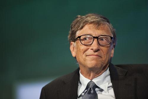 中国侨网微软公司创始人比尔·盖茨。