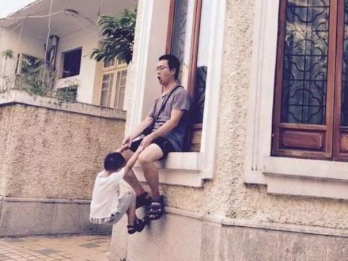 中国侨网一场意外改变了刘伟宁的家庭。(美国《世界日报》)