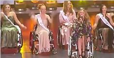 世界轮椅小姐大赛在波兰举行 白俄学生夺冠