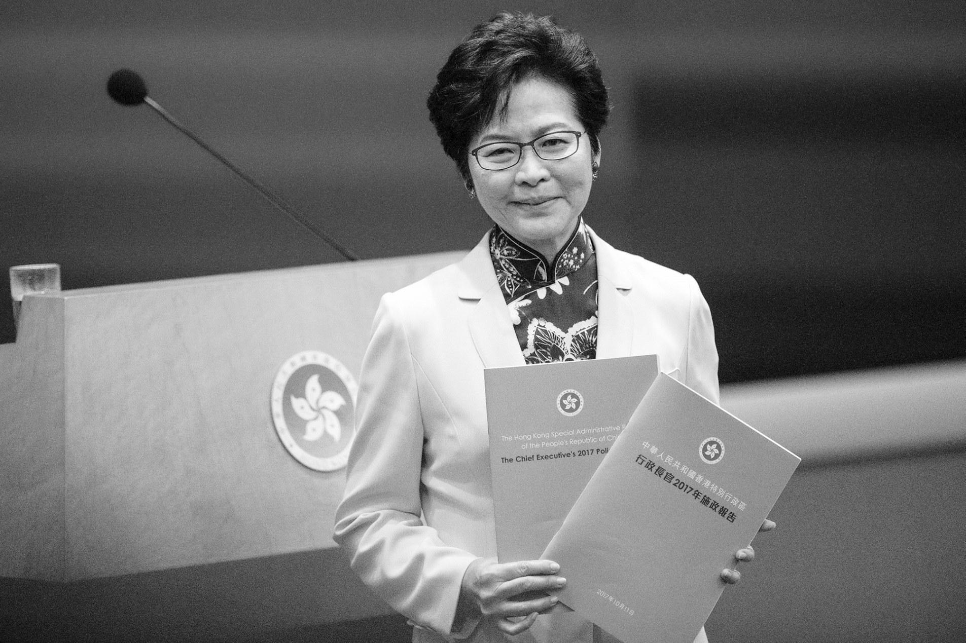 """林郑《施政报告》33次提""""一带一路"""":公务员要掌握国家发展机遇"""