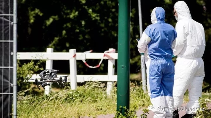 荷兰警方使用无人机助破案