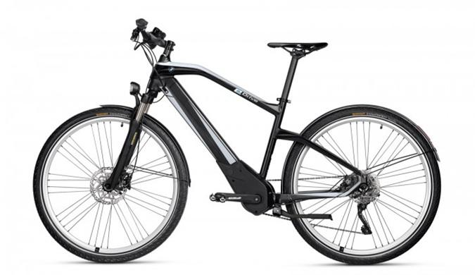 宝马为Active Hybrid电动自行车设计了一个车座