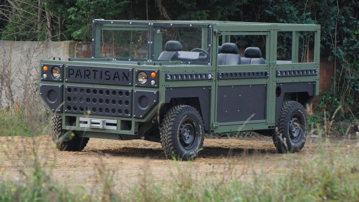 100年保修期的防弹SUV