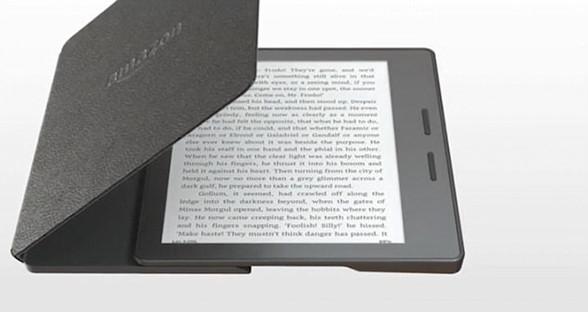 新版7英寸Kindle Oasis可防水 电池续航长达6周