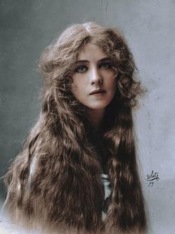 上色旧照重现早期好莱坞女星绝代风华
