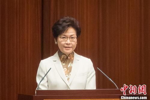 林郑月娥宣布将中国历史设为必修课