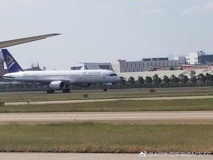 一架波音757因故障在厦门上空盘旋 已安全着陆