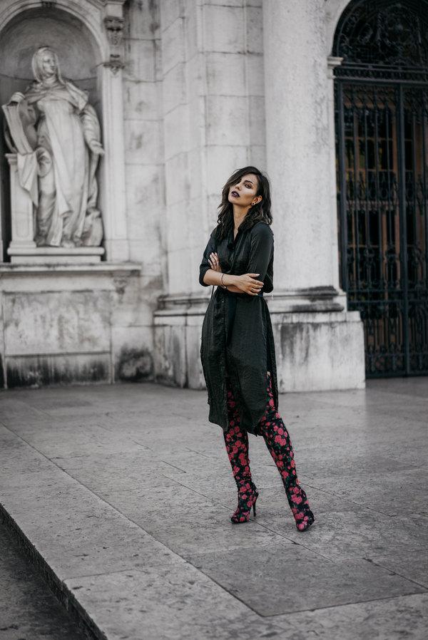 德国时尚博主博主玛莎·塞奇威克 (Masha Sedgwick)