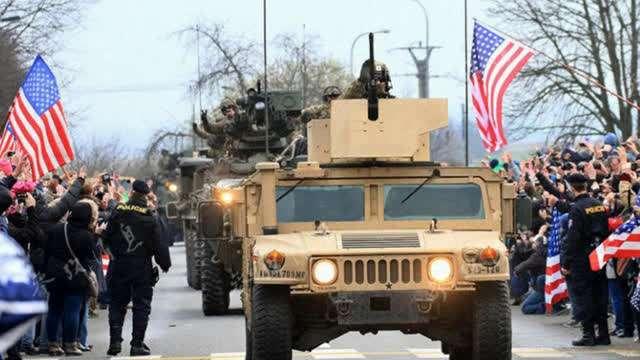 俄国防部:美在俄边境附近兵力已达一个装甲师