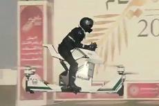 迪拜警方引进飞行摩托可飞5米高