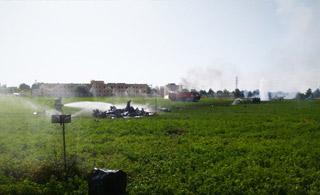 现场视频:西班牙台风战斗机参加完阅兵后坠毁