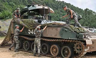 防空旅雷达车原来还能折叠