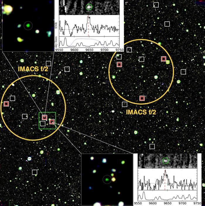 中外学者发现一批宇宙大爆炸后形成的星系
