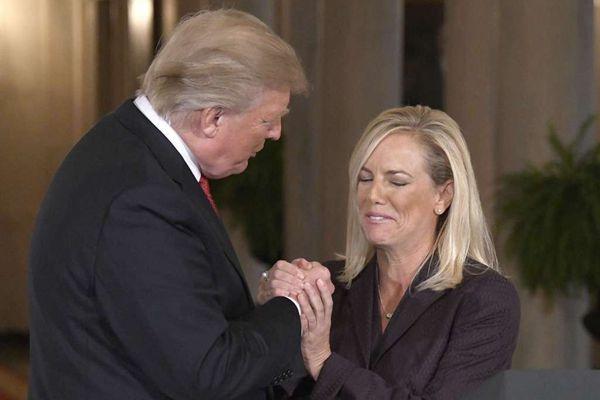 特朗普任命尼尔森为国土安全部部长