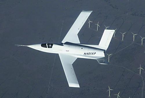 美新概念神秘飞机曝光:隐形和高超声速成未来