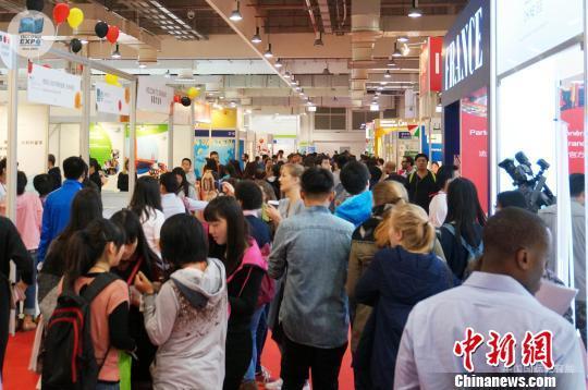 中国侨网往届展览现场。主办方供图