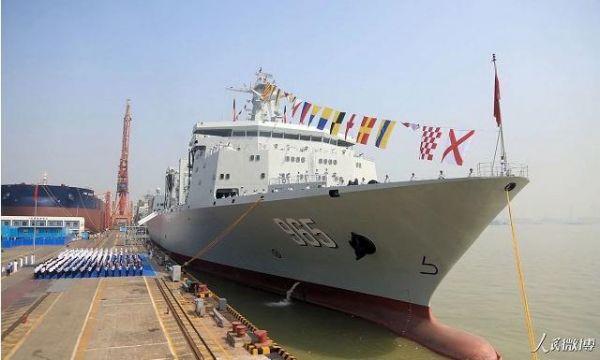 美媒关注中国大型补给舰 :美同思路产品已退役