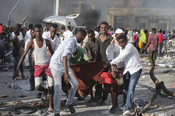 索马里爆炸已致276死 系该国近年最严重爆炸袭击