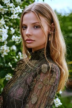 波兰超模梅格达莱纳登ELLE