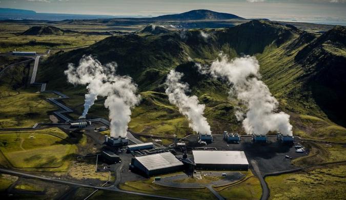 """全球首座 """"负排放""""发电站:将二氧化碳变石头"""