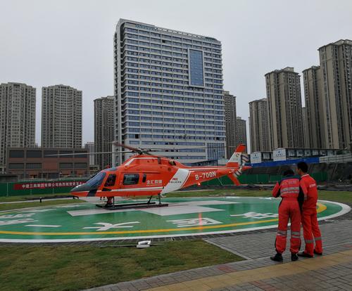 安徽首架医疗救援直升机正式投入使用