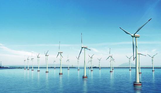 潜力巨大:海上风机发电量是陆上同级设备三倍