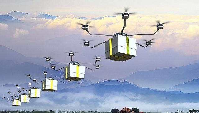 首个低空数字化应用基地成立 5G让无人机联网精准控制