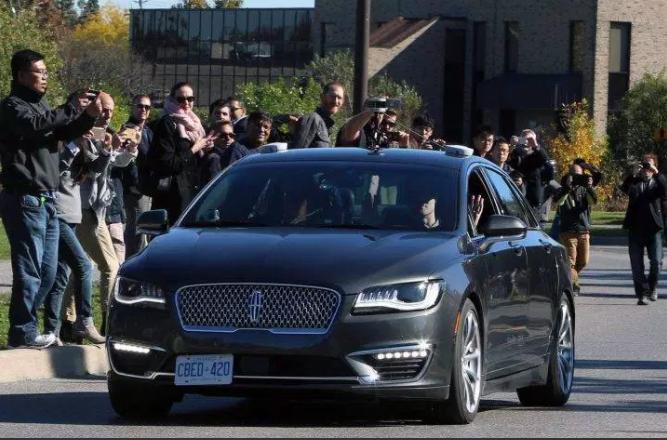 黑莓转战自动驾驶 首辆无人车加拿大上路