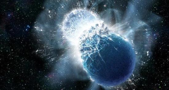 中美欧天文台大新闻:双中子星合并产生引力波?