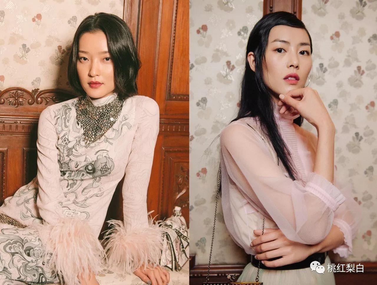 复古风的杜鹃和粉嫩感的刘雯,这场超模斗艳谁赢了?